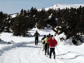 Estación de Esquí Nórdico de GUILS FONTANERA