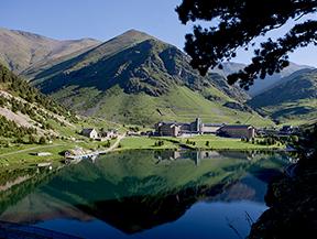 Estación de montaña Vall de Núria