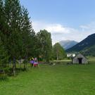 Área de picnic en el Valle de Pineta