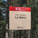 Área recreativa de la Serra