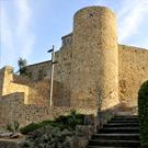 Castillo y muralla de Llagostera
