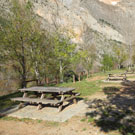 Desfiladero de Terradets y fuente de las Bagasses