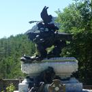 Mausoleo de Julián Gayarre en Roncal