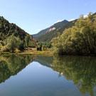 Pantano de La Torrassa en la Guingueta de Aneu
