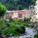 Paseo por la orilla del río en Ribes de Freser