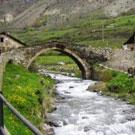 Torre de los Moros y puentes de Espot