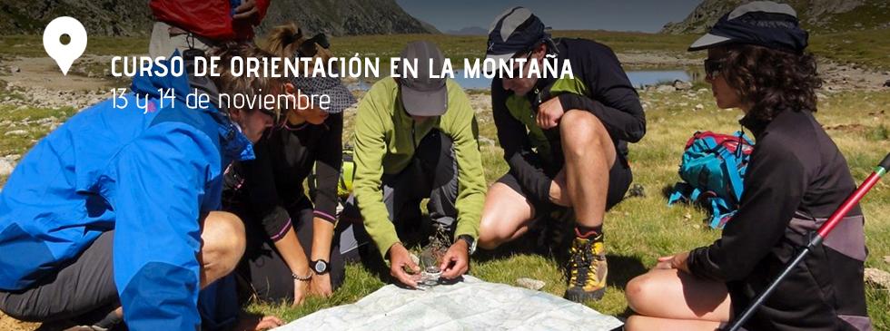 Curso de orientación en montaña, del 12 al 14 de octubre