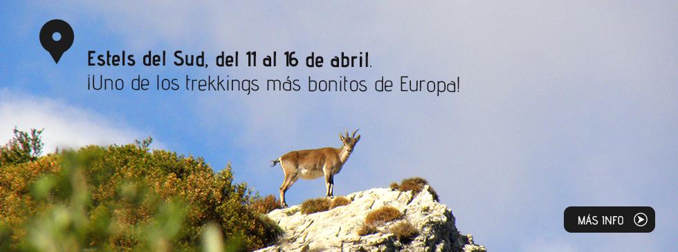 Estels del Sud, del 24 al 29 de octubre. ¡Uno de los trekkings más bonitos de Europa!