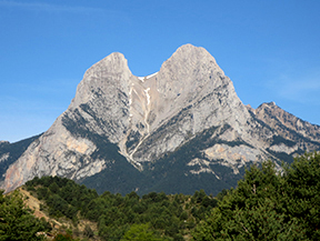 Ascensi�n al Pedraforca