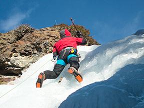 Curso de escalada en hielo