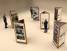 """Inauguración de la exposición """"Històries i camins"""""""