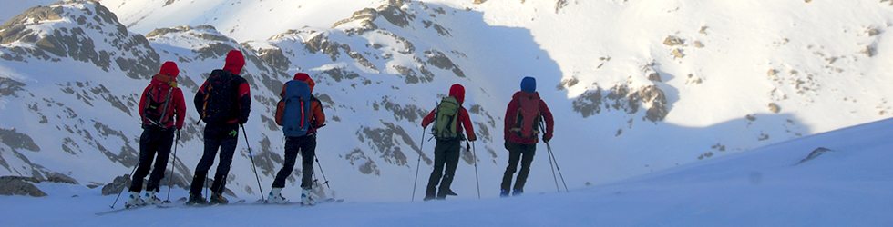La travesía skimo del Parque Nacional (4 días)