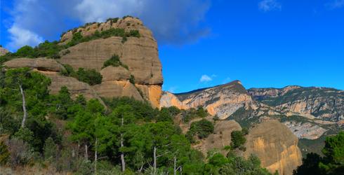 Sierra de Auben� y sierra de Sant Honorat