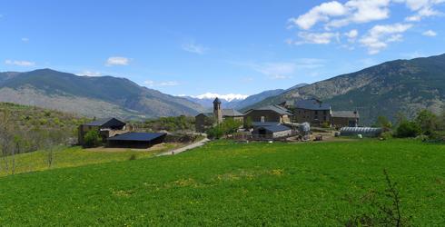 El Valle de �ssua y el Batlliu de Sort