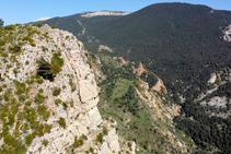 Las Roques del Solà y la Aubaga de Companys.