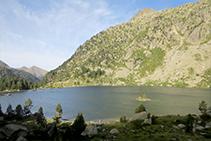 Lago o Estany Redó.