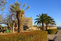 Jardines de ambiente mediterráneo en Madremanya.