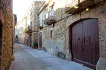 Calle de Sant Esteve.
