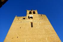 Fachada de la iglesia de Sant Esteve.