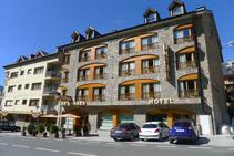 Hotel Restaurante Les Brases.