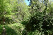 Fuente de Fontanilles o del barranco de les Lleres.