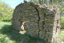 Capilla abandonada de Sant Pere.