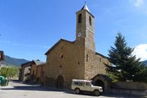 Iglesia de la Virgen de la Candelaria de Olp.