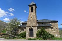 Iglesia parroquial de Sant Pere en Pujalt.