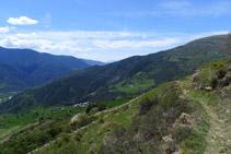 Vistas del valle de Montardit.