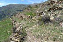 Desvío de la ermita de Sant Roc.