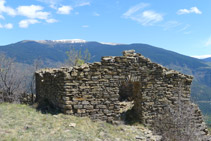 Restos de la ermita de Sant Roc.
