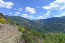 Descenso hacia Bressui.