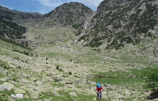 Besiberri Norte (3.014m) desde Cavallers por río Malo 1