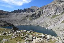 Lago de Gémena de Dalt.