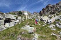 La señalización nos indica que entramos en zona del Parque Nacional.