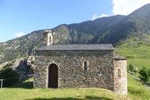 Ermita de Sant Joan Evangelista de Aixàs.