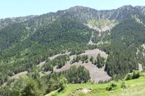 El pico de Carroi y el Obac de Sispony.