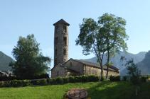 Iglesia de Santa Coloma.