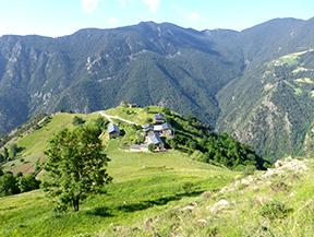 Bony de la Pica (2.402m) desde la Margineda