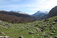 Peña Ezkaurre (2.045m) al fondo.