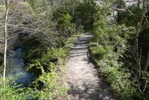 Cruzamos el río del Pendís.
