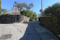 Seguimos la calle de la Miranda hacia arriba.