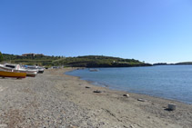 Playa de Portlligat.