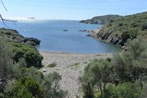 Playa de Sant Lluís.