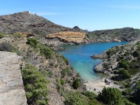 Camino Antiguo de Cadaqu�s al Cabo de Creus