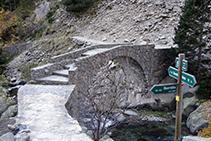 Llegando al puente de Cremal.