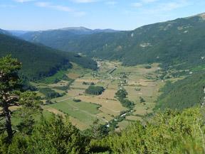 Camino de Zemeto en el valle de Roncal-Belagua
