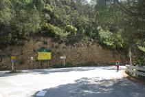 Tomamos a la derecha la carretera antigua de Terradets.