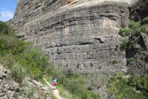 Desde el sendero tenemos unas vistas fantásticas de Roca Regina.