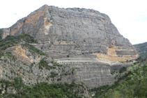 Vista panorámica de Roca Regina, desde la parte más alta del recorrido.